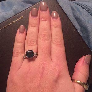 Jewelry - 14k white gold London blue topaz ring